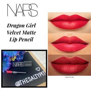 NIB NARS Dragon Girl Velvet Matte Lip
